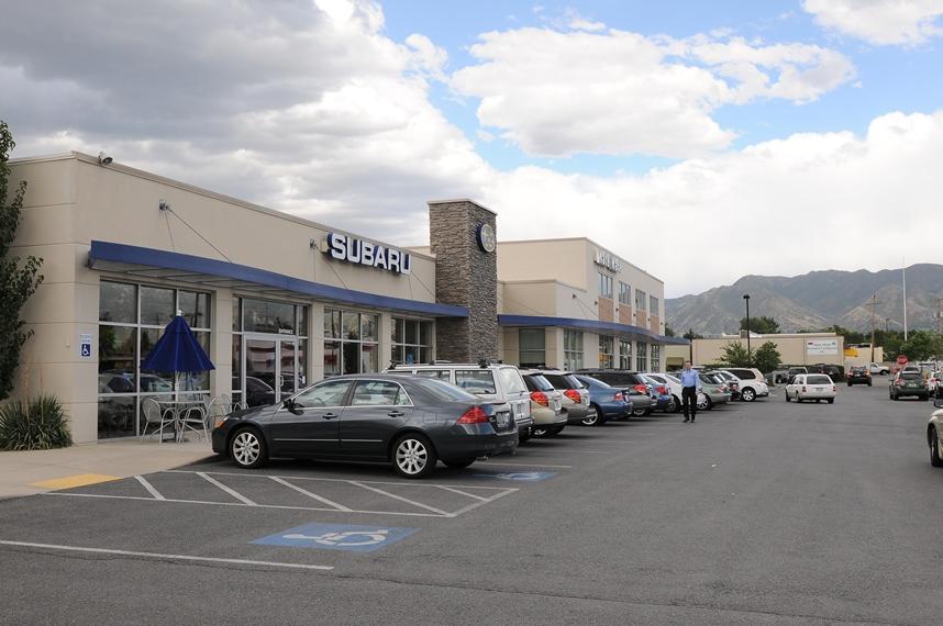 Nate Wade Subaru Store Front